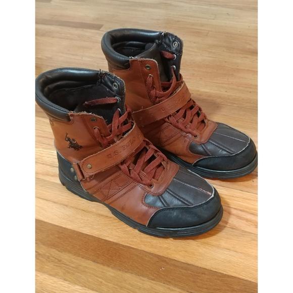 03e1bf641ee US POLO ASSN. Crusader II Boots!